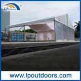 Mobiles transparentes Car Show-Zelt mit hölzernem Fußboden