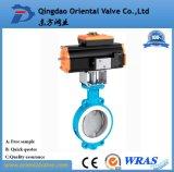 Basisrecheneinheits-Wert Dn-350 und pneumatische Stellzylinder-/pneumatisches Steuerdrosselventil