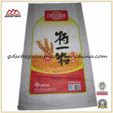 Colorful Printed Plastic Packaging PP Woven Flour/Curls/Wheat Bag