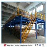 Crémaillère lourde de plate-forme industrielle en acier d'entrepôt d'étalage