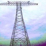 Башня стали Tarnsmission силы 800 Kv Direcrt в настоящее время