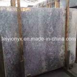 회색 얼음 오닉스 회색 크림 대리석