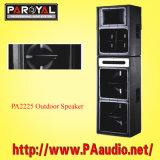 Desempenho exterior oradores PA2225