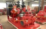Dieselmotor-horizontale Riss-Fall-Pumpe für städtische Wasserversorgung