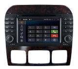 Perseguidor de la navegación del GPS del androide 7.1 de Carplay para el reproductor de DVD del coche de la S-Clase del Benz de Mercedes que sigue el dispositivo