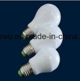 Gran cantidad de lúmenes bombilla LED de luz de plástico y aluminio