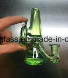 Tubo di fumo saltato mano di colore degli S.U.A. piccolo con colore verde