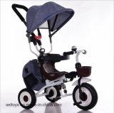 Trois roues pousser à la main d'enfants/Tricycle de bébé