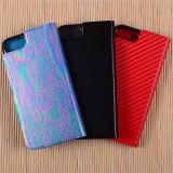 중국 iPhone 7/7s/7PRO 셀룰라 전화 상자를 위한 도매 책 작풍 손가락으로 튀김 가죽 상자 덮개