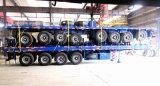 Halb Schlussteil-Flachbett 100 Tonnen Ladung-Transport-halb Schlussteil-