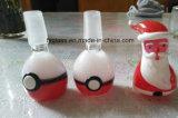 Tazones de fuente de cristal del color con el tazón de fuente rojo de Pokemon
