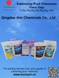 プールの化学薬品