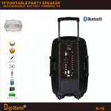 PA Mini Trolley Active Wireless Portable Mobile Bluetooth DJ Speaker