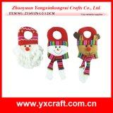 크리스마스 훈장 (ZY14Y176-1-2-3) 최신 판매 크리스마스 문의 손잡이 걸이 훈장 축제 제품