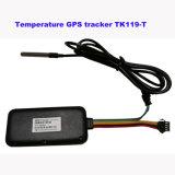 Rastreador de veículo de temperatura do Sistema de Rastreamento por GPS rastreados em plataforma Web e APP TK119-T