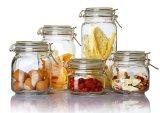 Glasglas Glaswaren im Küchenbedarf für Speichernahrung