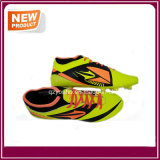 Voetbalschoenen van de Kleuren van de fabriek de Goedkope Gele
