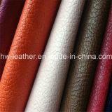Tissu en cuir de sofa avec l'épaisseur Hw-648 de 1.0mm