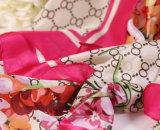 Moda Flor de impressão Chifre de seda chinês Yiwu Lenço