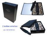 Специальное Paper Wine Box для 2 Bottles, Suitable для Honey Packing