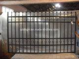 디자인을 검술하는 정원 안전 단철 담 /Decorative 강철이 3000*2100mm를 입히는 분말에 의하여 직류 전기를 통했다