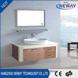 高品質の陶磁器の洗面器が付いている鋼鉄浴室の流しのキャビネット