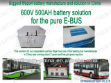 600V 500ah Patent Packed EV LiFePO4 Battery con Smart BMS