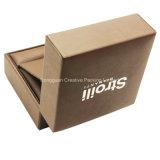 Коробка подарка обручального кольца PU высокого качества кожаный