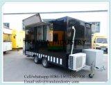 Трейлер торгового автомата улицы цены Steaming