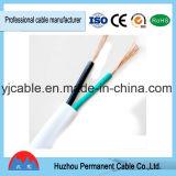 Rvvb de haute qualité 2*2.5mm câble plat flexible PVC Vente chaude sur le fil Fil électrique