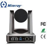 Cámara de la videoconferencia del USB PTZ del compás de Minrray compatible con Skype