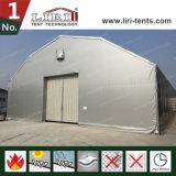 structure industrielle ignifuge imperméable à l'eau d'entrepôt de PVC de 15X50m