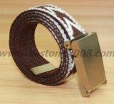 高品質は衣服Acessory #1501-23のための綿ベルトを模倣した
