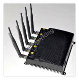 2015 de Nieuwste Stoorzender van Lojack van de Stoorzender van de Telefoon van de Desktop van 5 Antennes 3G