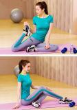 Гетры йоги длины лодыжки нейлона 15% шика 85% соединенные Spandex с изготовленный на заказ логосом