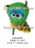 Воздушный шар Mylar формы гусеницы (SL-A157)