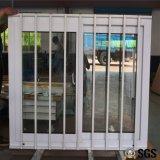 Finestra di scivolamento di UPVC con la rete di Buglar dell'acciaio inossidabile, finestra di UPVC, finestra del PVC, finestra K02086