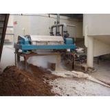 Centrifugador horizontal garantido do filtro do parafuso da qualidade para o tratamento da lama