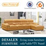 Mejor calidad cuero salón sofá para la casa (A312)