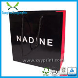 Aangepaste luxe Paper Shopping Gift Bag met Logo Print Wholesale