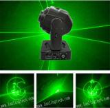 Testa mobile verde del laser di Ilda per natale