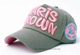 Продукция OEM подгоняла бейсбольную кепку хлопка логоса вышитую Applique выдвиженческую