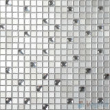 15X15mm Silver White Mirror Glass Wall Tile