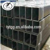 Tubo de acero de la casilla negra/sección de la construcción/precios huecos del tubo