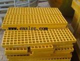 Retardante de fuego de fibra de vidrio PRFV pultrusión Zlrc Perfil de rejilla de plástico reforzado con fibra