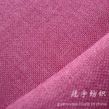 Brushed Backingの模造Slub Linen Fabric Polyester Yarn