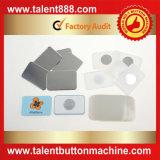 Botón rectangular 40X60mm Pin