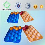 Kundenspezifische Ordnungs-Blasen-Plastikobst- und gemüseverpackentellersegment annehmen