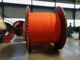 Cable de transmisión acorazado aislado PVC/XLPE del alambre de acero del cobre