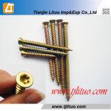 Torx Head T30 / 25 Vis en béton à zinc jaune